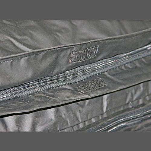 Apex Rage Powersports CSBG-60 Hitch Cargo Carrier Rack Bag (60' Waterproof with Expandable Height),1 Pack by Apex (Image #2)