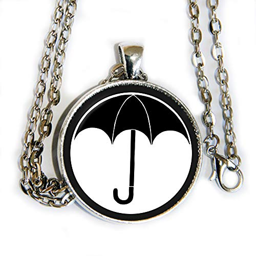 The Umbrella Academy logo - pendant necklace - HM (Umbrella Ivy)