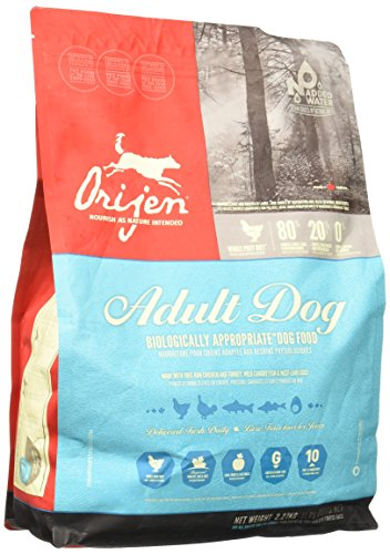 Orijen Grain-Free Adult Dry Dog Food, 5 lb