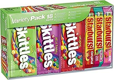 Skittles Candies 34 Variety Box