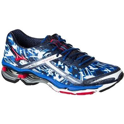 68cfd11ab153e Amazon.com | Mizuno Men's Wave Creation 15 Running Shoe, Red, 7 D US ...