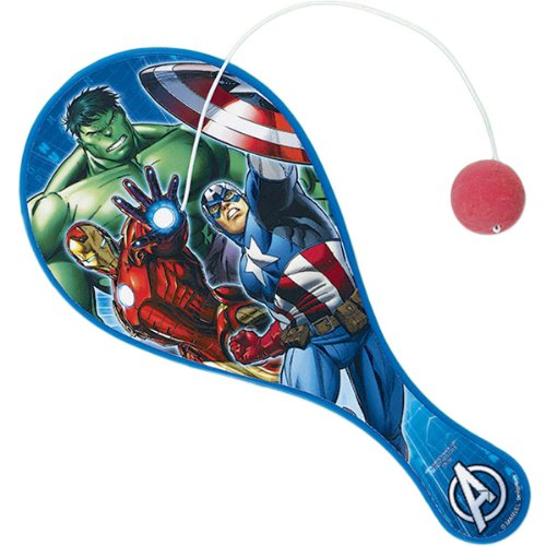 The Avengers Paddle Ball, Party