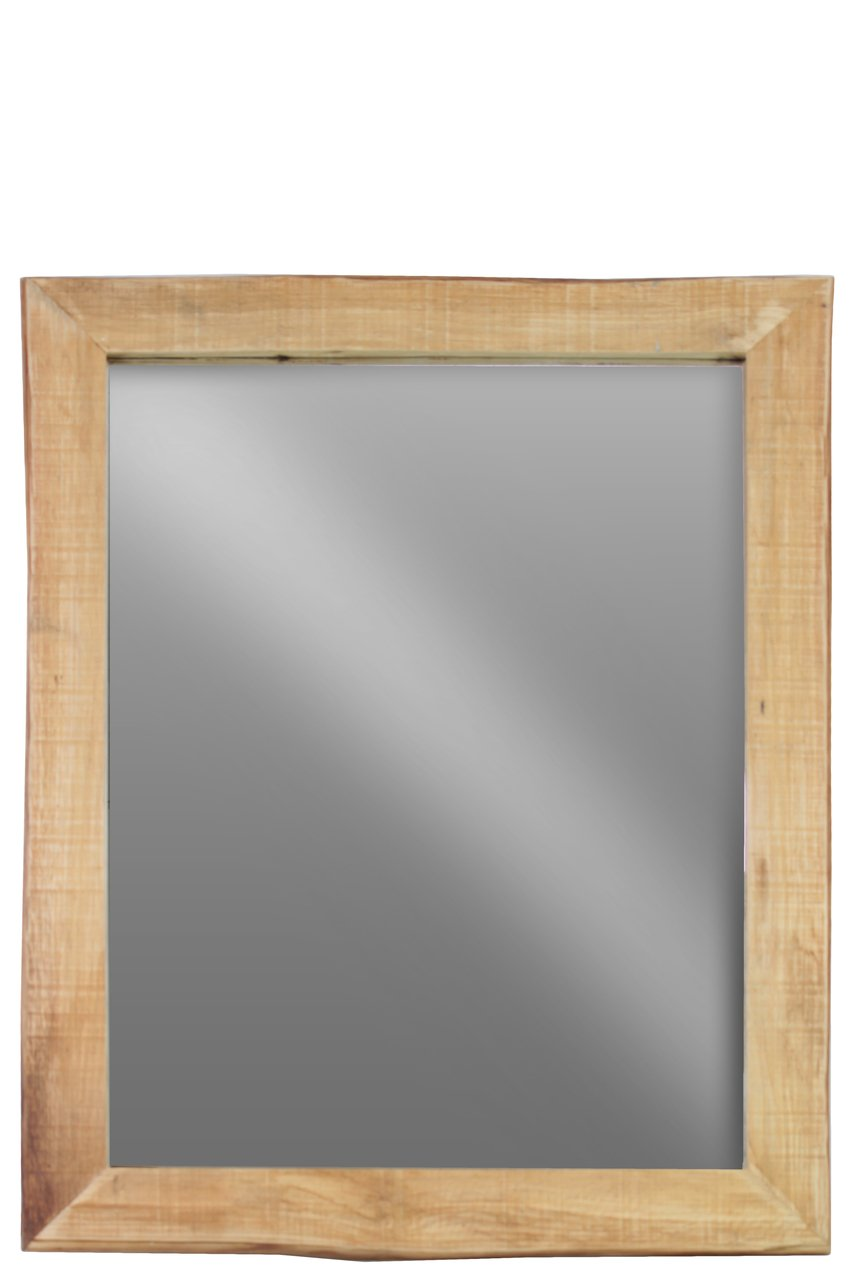 Urban Trends Wood Rectangular Wall Mirror LG Distressed Finish Brown - Item Type: Mirror Item Material: Wood Item Finish: Distressed Finish - bathroom-mirrors, bathroom-accessories, bathroom - 51m7SUdaQHL -