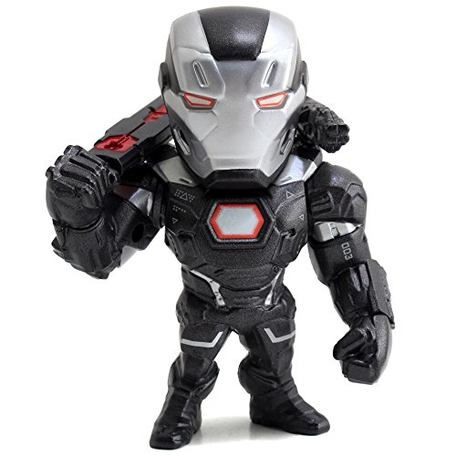 Metals Marvel 4 inch Classic Figure - War Machine (M59) (War Machine Figure)