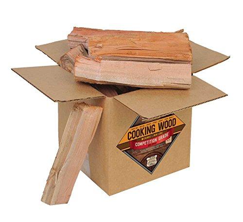 Smoak Firewood Cooking Wood Logs - USDA Certified Kiln Dried (Maple, 8-10 lbs)