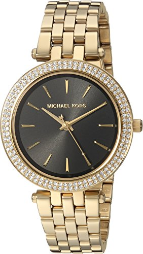 Michael Kors Women's 'Mini Darci' Quartz Stainless Steel Casual Watch, Color:Gold-Toned (Model: MK3738) by Michael Kors