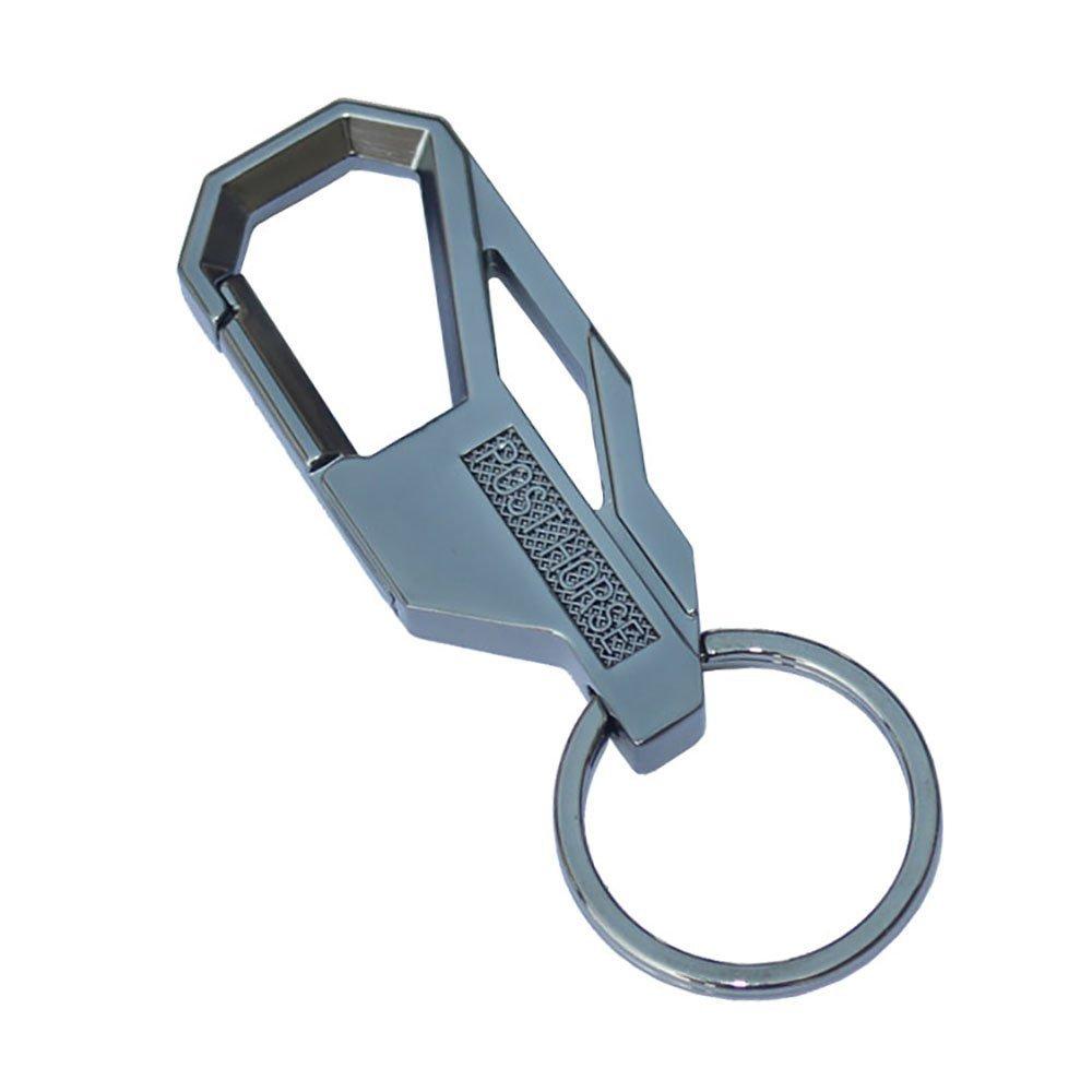 Liangery - Llavero para cinturón de acero inoxidable y piel ...