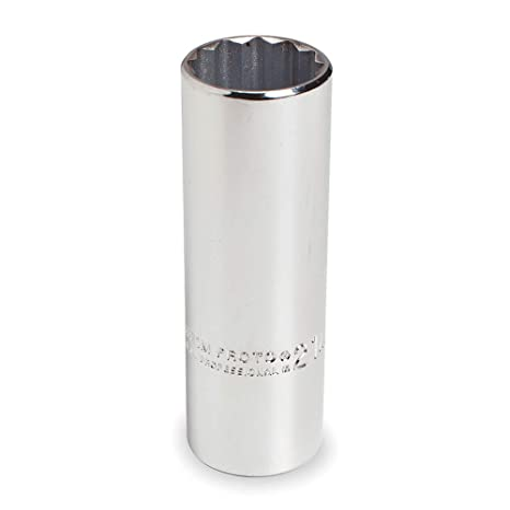 19mm Chrome SK Hand Tool 48219 6 Point 1/2-Inch Drive Standard Socket