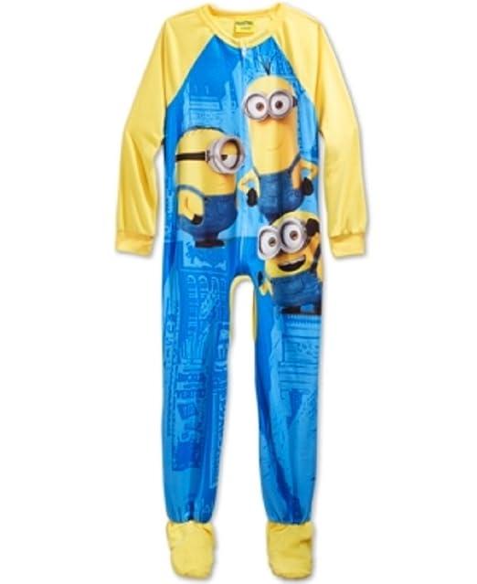 MINIONS - Pijama de una pieza - para niño Gelb Blau 5 años: Amazon.es: Ropa y accesorios