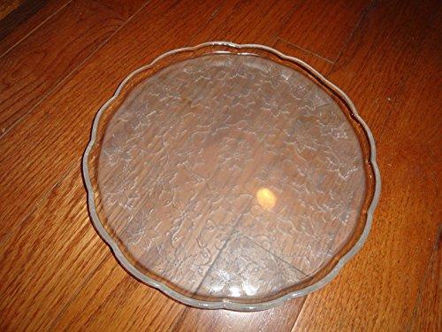 princess house crystal platter - 4