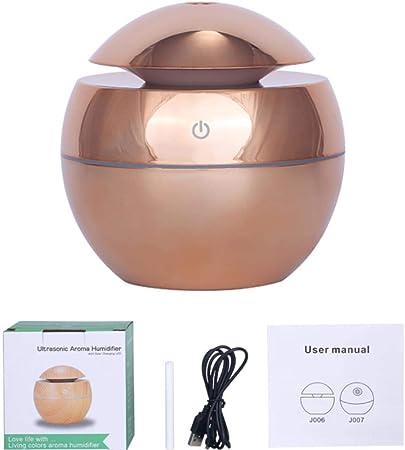 HTRO Aroma Aceite Esencial difusor ultrasónico Enfriar la luz ...