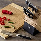 Chicago Cutlery Insignia2 18-Piece Knife Block Set with In-Block Knife...