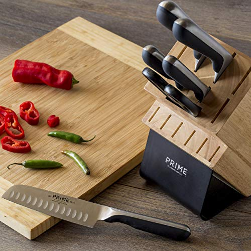 Prime by Chicago Cutlery Stainless Steel 7-pc Block Set