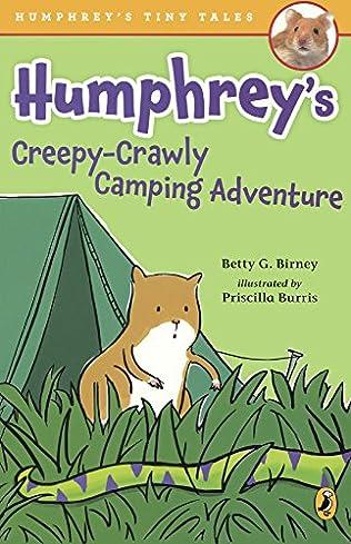 book cover of Humphrey\'s Creepy-Crawly Camping Adventure