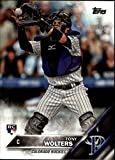 2016 Topps Update Colorado Rockies Baseball Card #US249 Tony Wolters Rookie