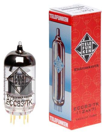 TELEFUNKEN Black Diamond Vacuum Tubes Set featuring 1-ECC83 for Mesa/Boogie  M6 Carbine, Mesa/Boogie M9 Carbine