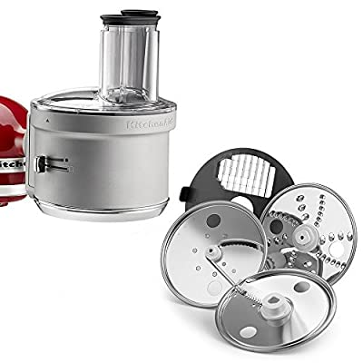 KitchenAid KSM1FPA Food Processor Attachment, White
