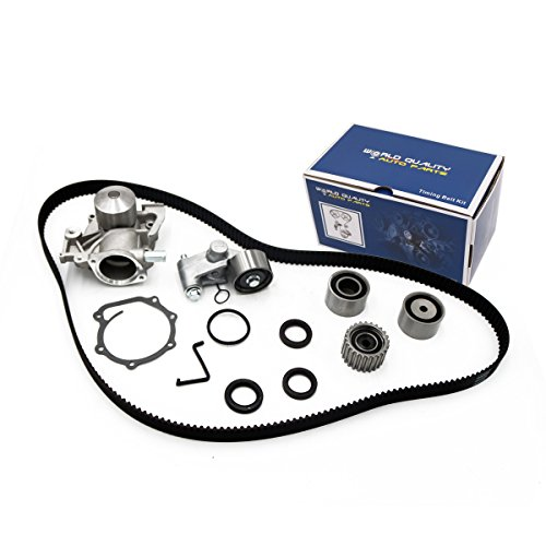 Timing Belt Kit Water Pump w/Tensioner Gasket for 1999 2000 2001 2002 2003 2004 2005 Subaru Forester Impreza Legacy Outback 2.5L