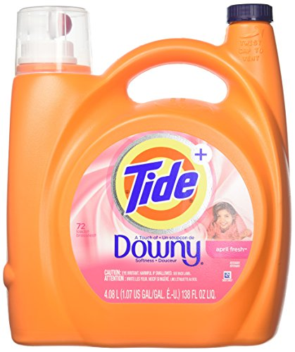 Tide Plus a Touch of Downy Liquid Laundry Detergent - 138 oz