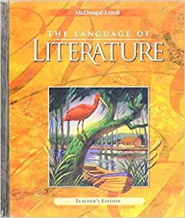 mcdougal 9th grade the language of literature