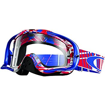 oakley goggles white  Amazon.com: Oakley Crowbar MX Ryan Dungey Signature Series Goggles ...