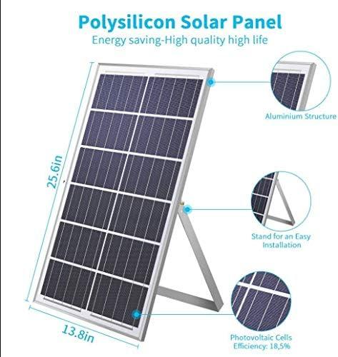 2020 Upgraded 200W Solar Strahler,360LED Weiß 6500K solarlampen für außen,IP67, mit ferngesteuerter led strahler außen Abenddämmerung bis zum Morgengrauen, für Hinterhof|Garage |Garten