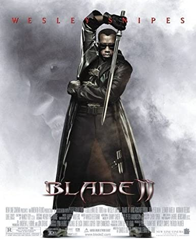 Blade 2 Single Sided Video 27x40 Wesley Snipes Poster At Amazon S Entertainment Collectibles Store