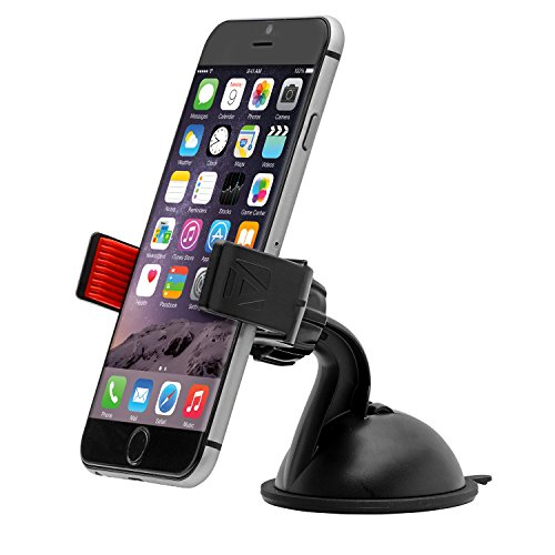 (Aduro U-Grip Plus Windshield Car Mount - Universal for iPhone/Galaxy and All Smartphones & Multimedia Devices up to 5.5
