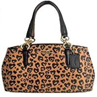 Coach Women's Shoulder Inclined Shoulder Handbag Mini Sierra Satchel Purse