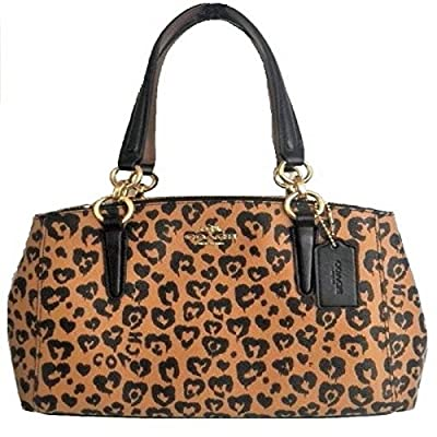 Coach Christie Carryall in Crossgrain Leather (Wildheart)