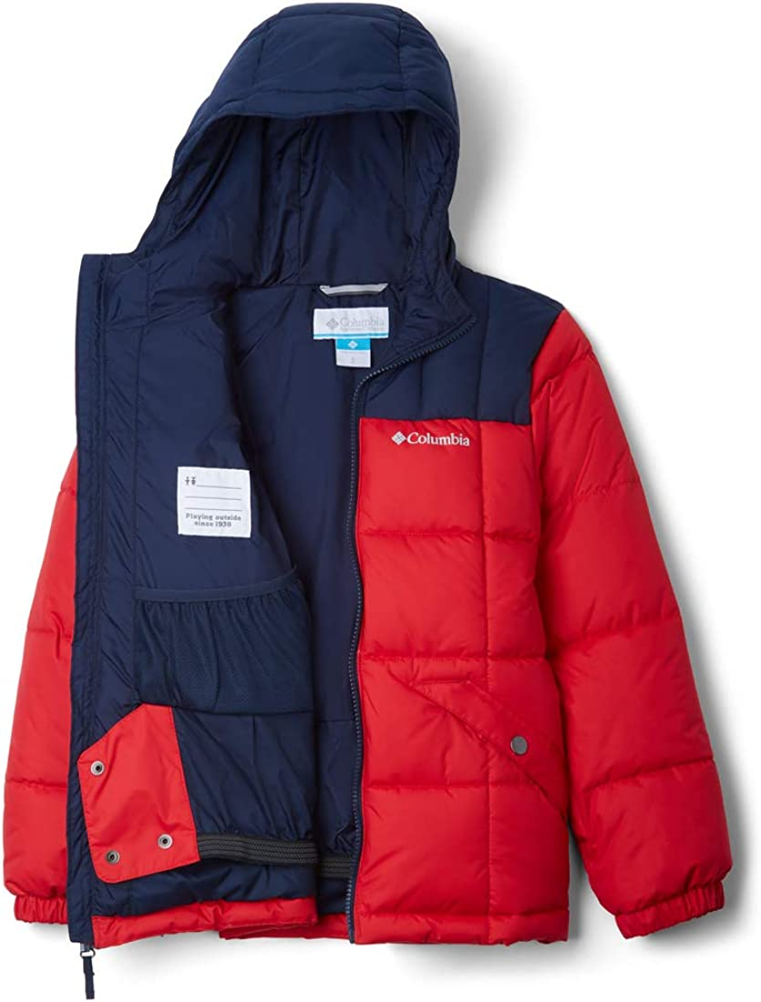 Mountain Red//Collegiate Navy XX-Small Columbia Little Boys Gyroslope Jacket Outerwear