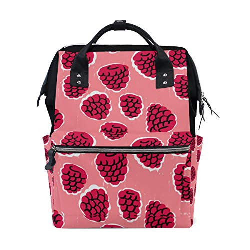 Backpack Mulberry Pink Womens Laptop Backpacks Hiking Bag Travel ()