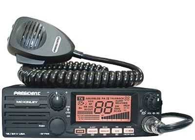 PRESIDENT MCKINLEY USA SSB 12/24V CB RADIO by President