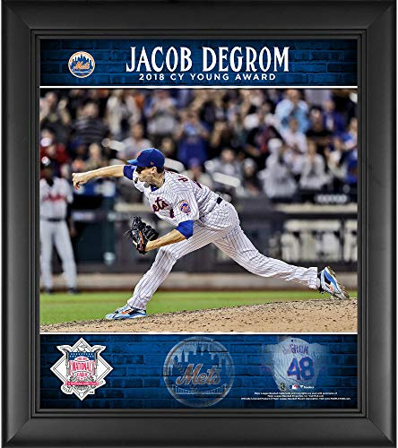 Jacob deGrom New York Mets Framed 15