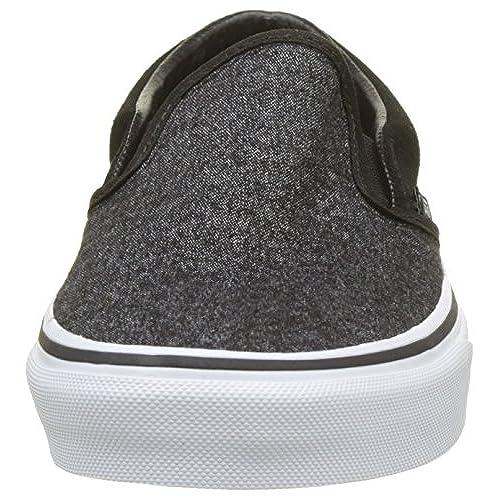 79a052f7d6 durable service Vans Unisex Classic Slip-On (Suede   Suiting) Skate Shoe
