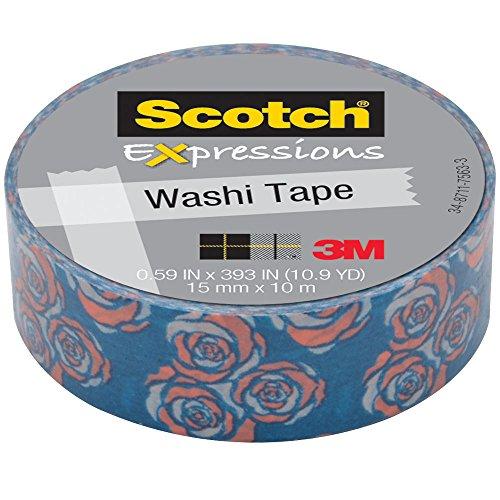 3M Washi 59X393 15mmx10m Vintage