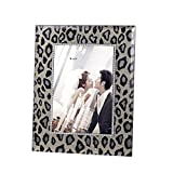 Joyce&KF Classic Champagne Gold Leopard Seal Frame,Glass,Gift Of Wedding,Birthday,graduation,Home Decoration,Picture Frame (4''x6'')