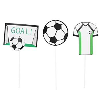 YeahiBaby Toppers Torta de Fútbol | Decoraciones de ...