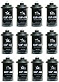 Tiki 1317054 Easy Pour Metal Replacement Torch Fuel Canisters w/Wick - Quantity 12