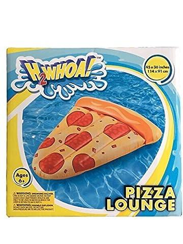 Kids Backyard Fun Play H2Whoa! Pool Pizza Slice Slide Inflatable Center Summer Outdoor Pool Fun Swimming