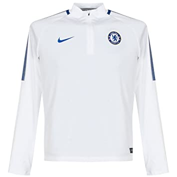7696a245546 Nike Chelsea FC Dry Squad Drill Shirt Junior: Amazon.co.uk: Sports &  Outdoors