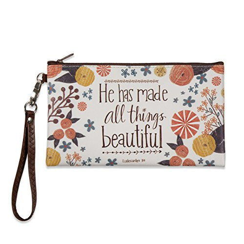 Brownlow Gifts Zippered Bag, He Has Made All Things Beautiful by Brownlow Gifts
