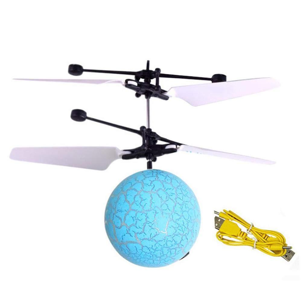 gaeruite Mini Aircraft con Cable USB suspensi/ón Luminosa Inteligente de inducci/ón Flying Ball Toys para ni/ños