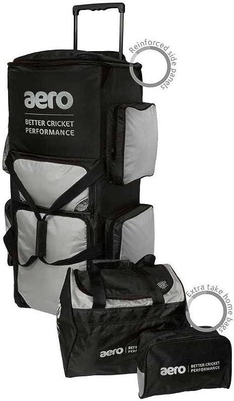 Aero Stand Up Wheelie Bag Black//Blue Free P/&P