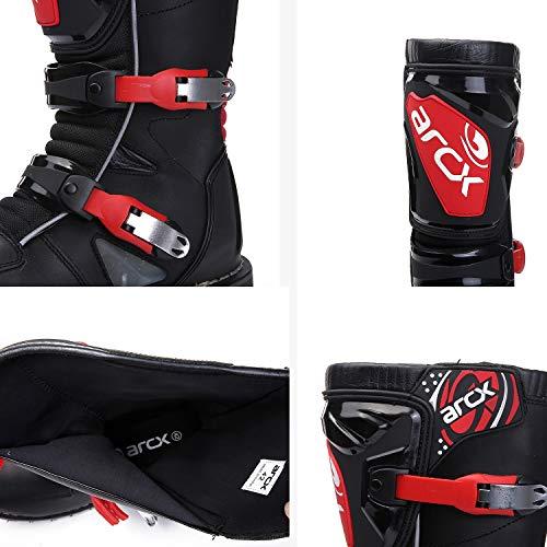 Hy Scarpe Stivali Uomo Uomo black Corsa Corsa Da Strada Shoes Su Trekking Ciclismo Moto road 41 Scarpe Shoesoff Moto rrwF6