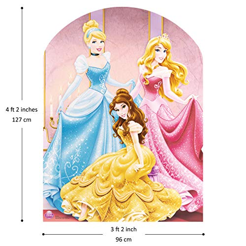Multicoloured Star Cutouts STSC730 From the Decoration from The Official Disney Franchise Cardboard Anna /& Elsa Frozen Party Double Cutout