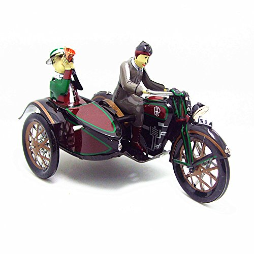 Vintage Motor Tricycle Wind Up Tin Toy by Wind-up Toys