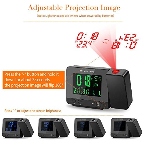 Review SMARTRO Alarm Clock Digital
