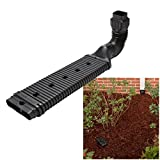 """Downspout Adapter Kit LOW PROFILE Extention Drain 2.35"""" High - NO DIGGING!"""