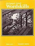 Wordskills, MCDOUGAL LITTEL, 0395979897
